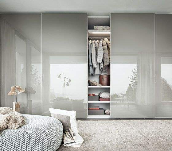 beautiful main bedroom with sliding wardrobe doors wa