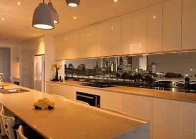 printed glass splashbacks