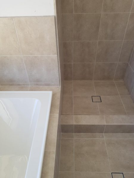 bathroom renovation not properly waterproofed tiling