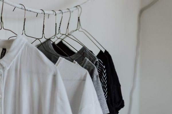 wardrobe storage tip - get thinner hangers to maximise your space